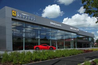 Ferrari Car Showroom