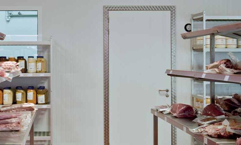 porte de service pivotante isol e type b isocab. Black Bedroom Furniture Sets. Home Design Ideas