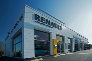 Renault Car Showroom